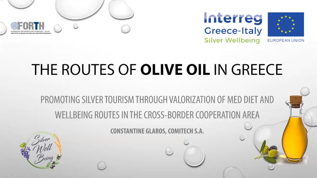 The Routes Of Olive Oil
