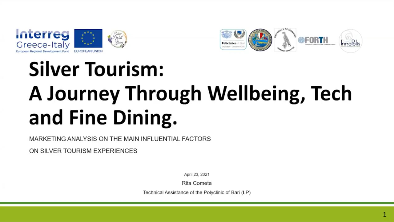 Silver Tourism: A Journey Through Wellbeing, Tech And Fine Dining